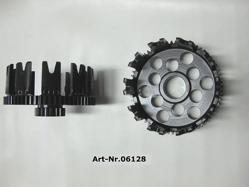 clutch gear cage complete steel