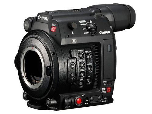 Canon C200 w/Cfast cards + batteries