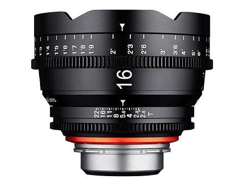 Xeen Cine 16mm EF