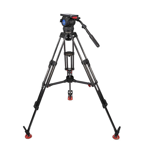Sachtler 18 with Manfrotto head