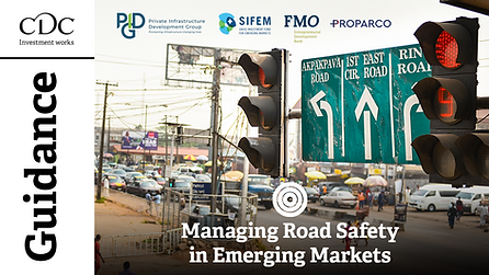 Road safety in emerging markets CDC guidance