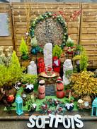 Christmas Sofpot Garden