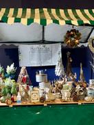 Pop-up Softpot Christmas stall