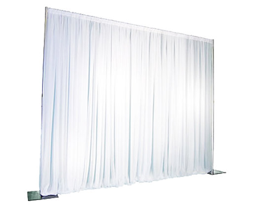8' Tall X 10' Long Pipe & Drape Section