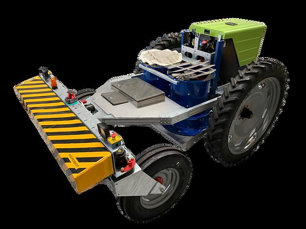 Lygus BugVac autonomous vacuum robot for pest control