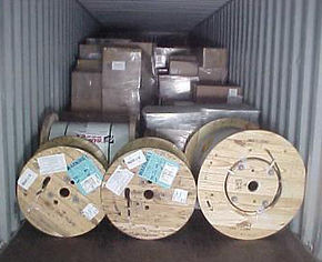 LCL container loading