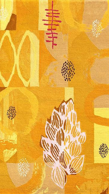 Yellow Luxury Carpet