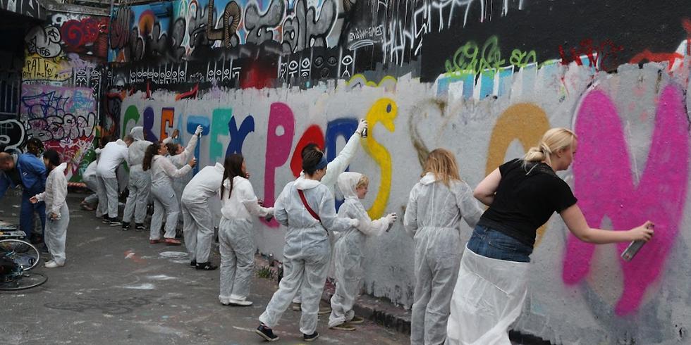 #LeakeStreetLIVE Graffiti Workshops