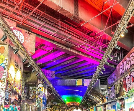 Leake Street Arches gets Lit