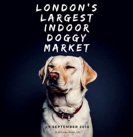 Leake Street Arches to host London's largest indoor dog market!