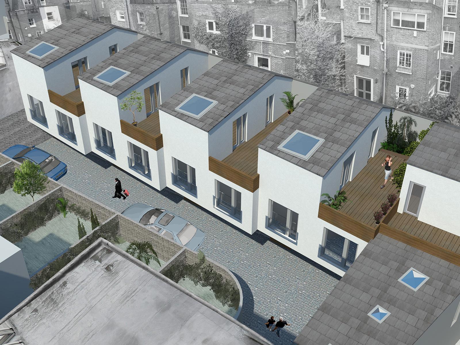 Chelsea Mews Housing, London