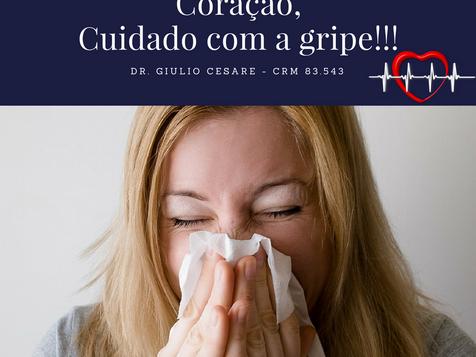 Coração, Cuidado com a gripe!