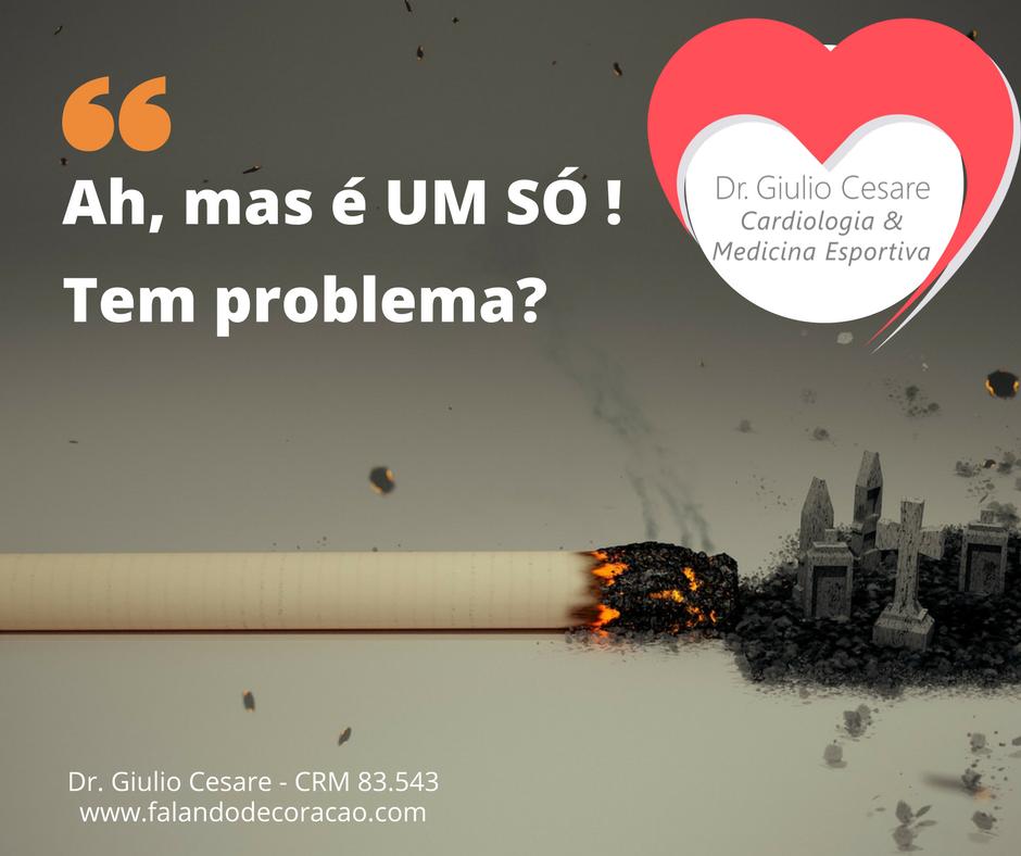 Dr. Giulio Cesare - tabagismo