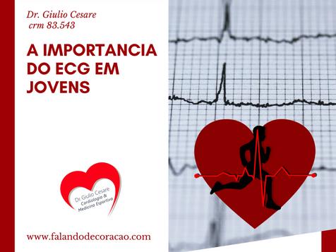 Qual a importância do Eletrocardiograma em jovens?