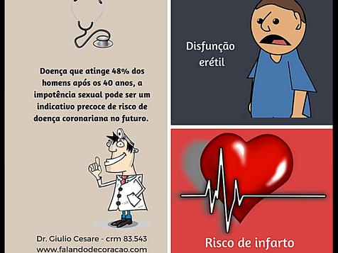 O que a impotência sexual tem a ver com infarto?