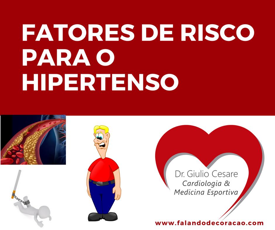 fatores de risco para o hipertenso
