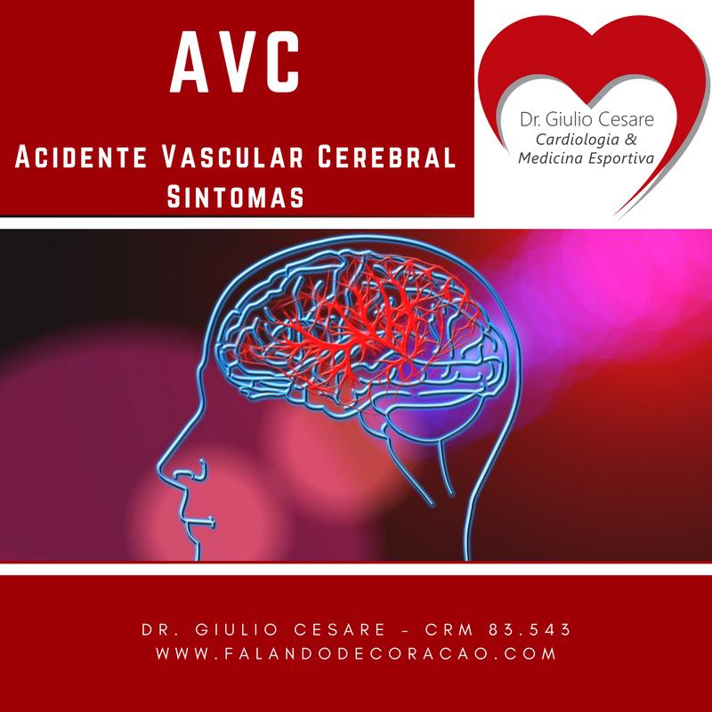 AVC - Sintomas Dr. Giulio Cesare