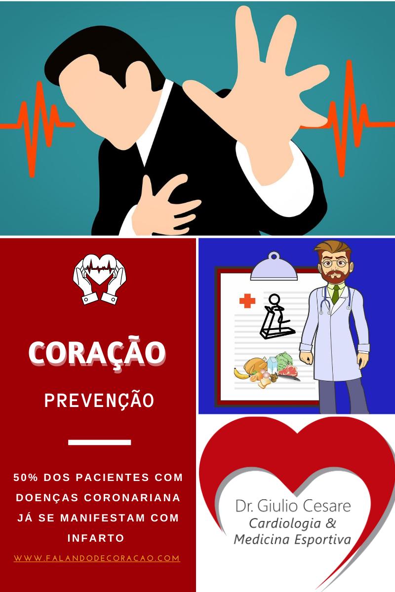 prevenção de doença coronariana - dr giulio cesare