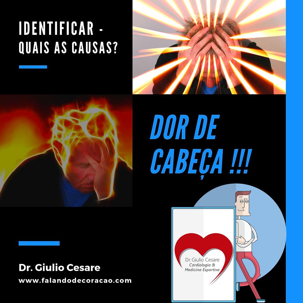 dor de cabeça, dr. giulio cesare