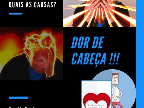 DOR DE CABEÇA: OS DIFERENTES TIPOS