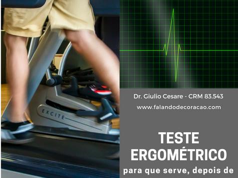 Adianta eu fazer Teste Ergométrico depois do infarto?