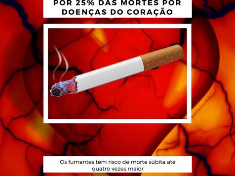 Cigarro ligado a 25% das morte do coração