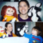 Puppets and soft toys