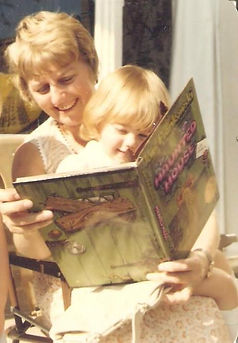 Story time with my nan, Mrs Wrathall