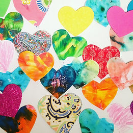 Art and Craft Hearts