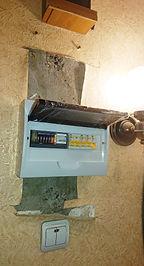 Щит с Меркурий 201.5 и автоматами IEK.JPG