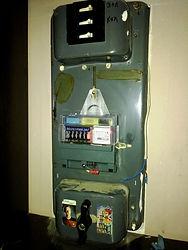 Старый электрощит с счетчиком Меркурий 201.5.jpg
