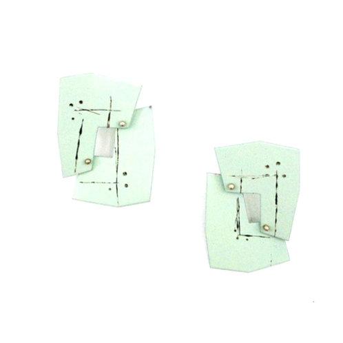 Mint Interlocking Earrings