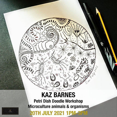 Petri Dish Doodle Workshop - Microculture animals & organisms