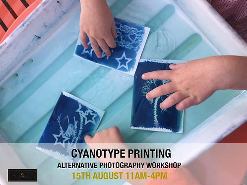 Cyanotype Workshop with Emily Parris