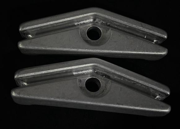 Aluminum Oneida Saddle Set