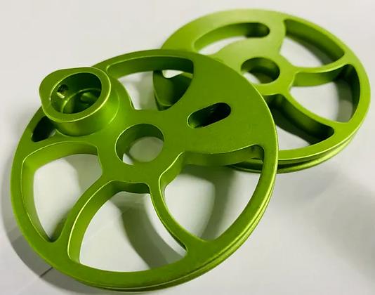 AluminumTiming Wheel Set For Older Style Oneida Bows