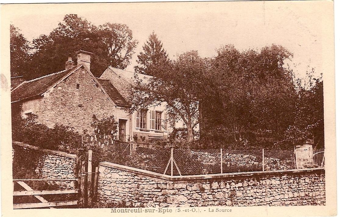 Source rue du Ruisseau'