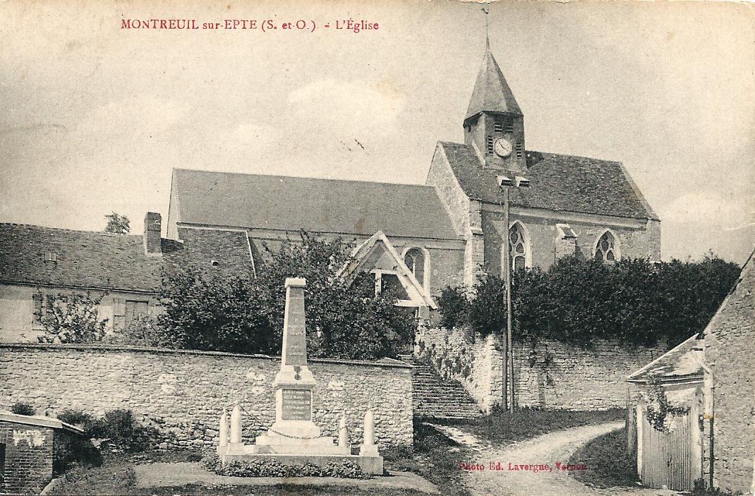 Eglise en 1923