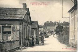 Montreuil - route de St Clair