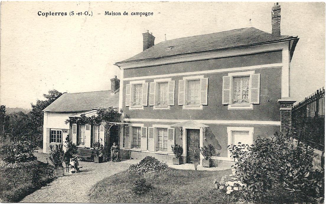 Maison de campagne Montreuil en 1935
