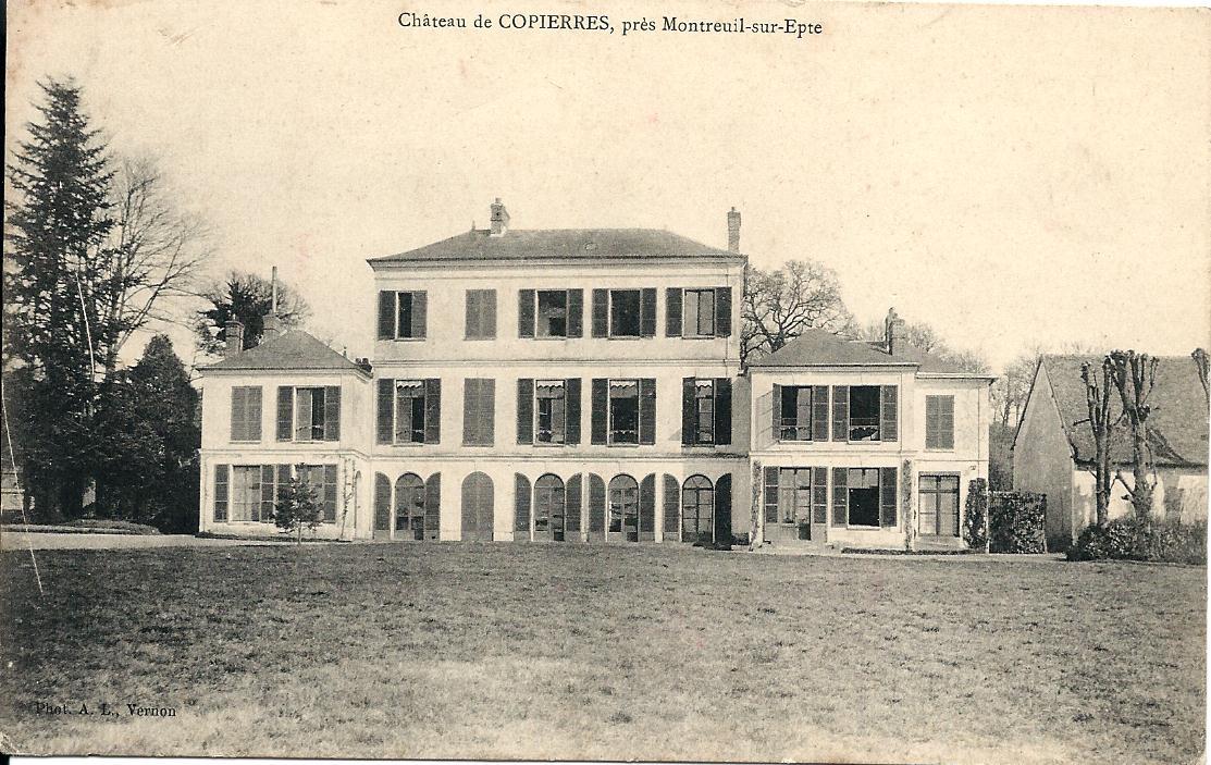 Château de Copierres en 1904