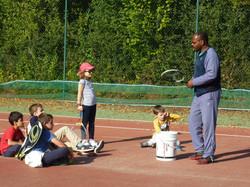 Cours de tennis pour les petits Montreui