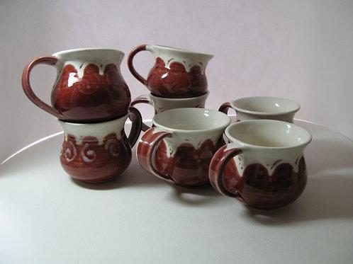 Red Cloud Tea Cups