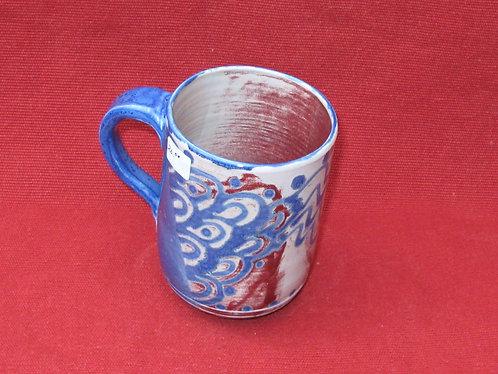 Modern Blue-Red Mug