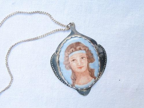 Greek Silver Necklace