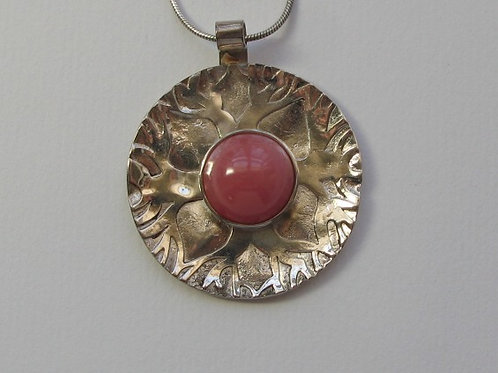 Silver Bustamite Pendant