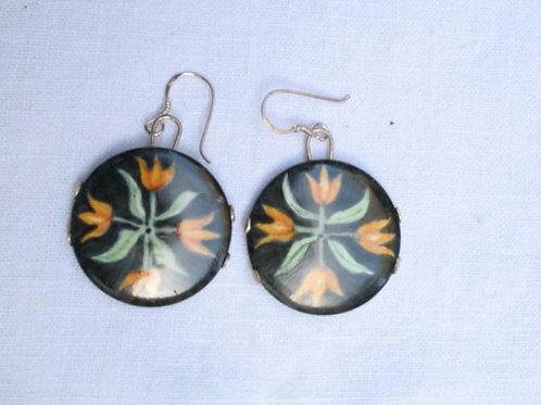 Tulip Dangle Earrings