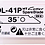 Thumbnail: NT CUTTER BDL-41P Kretuar Yedek Bıçak 35 Derece
