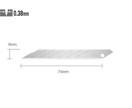 OLFA SAB-10 Dar Maket Bıçağı Yedeği 30 Derece Paslanmaz