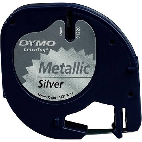 Dymo LetraTag Metalik Şerit